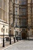 Abbaye de Westminster, groupe d'architecture Photographie stock libre de droits