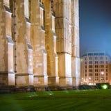 Abbaye de Westminster la nuit image libre de droits