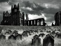 Abbaye de Whitby photographie stock