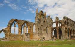 Abbaye de Whitby, Angleterre Photographie stock