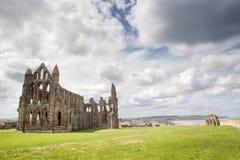 Abbaye de Whitby dans Yorkshire du nord Photo stock