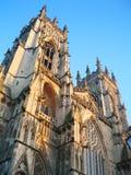 Abbaye de York, York, Angleterre. Photographie stock libre de droits