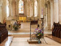 Abbaye del Santo-Benoit-sur-Loira Fotos de archivo libres de regalías