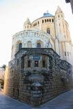 Abbaye du Dormition, Jérusalem, Israël, bâti saint de Zion, 0 photo stock