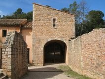 Abbaye du Thoronet Fotografia Stock