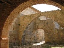 abbaye du thoronet Royaltyfri Bild