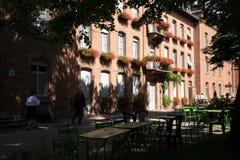 Abbaye en Alsace, France Images stock
