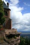 Abbaye en Alsace, France Photographie stock libre de droits