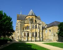 Abbaye gothique Photo stock