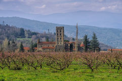 Abbaye Heilig-Michel-De-Cuxa Stockbild