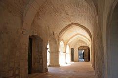 Abbaye Heiliges Hillaire Lizenzfreie Stockbilder