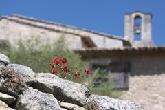 Abbaye Heiliges Hillaire Lizenzfreie Stockfotografie