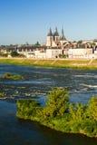 Abbaye-Heiliges-Laumer in Blois, Frankreich Lizenzfreie Stockfotografie
