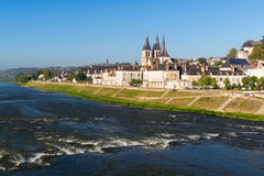 Abbaye helgon-Laumer i Blois, Frankrike Fotografering för Bildbyråer