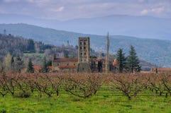 Abbaye Helgon-Michel-de-Cuxa Fotografering för Bildbyråer