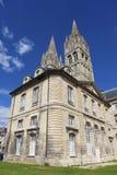 Abbaye hjälpHommes, Caen Royaltyfria Foton