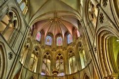 Abbaye hjälpHommes i Normandie Fotografering för Bildbyråer