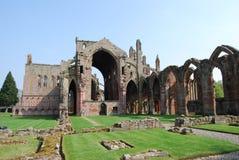 Abbaye melrose Photos libres de droits