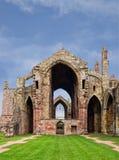 Abbaye melrose, Ecosse Photos libres de droits