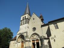 Abbaye Notre-Dame Ambronay Imágenes de archivo libres de regalías