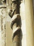 Abbaye Notre-Dame Ambronay Foto de archivo libre de regalías