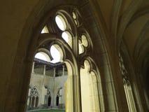 Abbaye Notre-Dame Ambronay Royaltyfri Fotografi