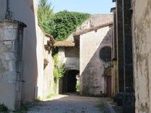 Abbaye Notre-Dame Ambronay Imagenes de archivo