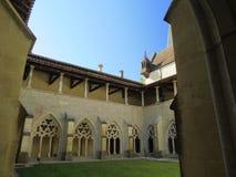 Abbaye Notre-Dame Ambronay Fotografía de archivo libre de regalías