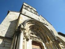 Abbaye Notre-Dame Ambronay Arkivfoton