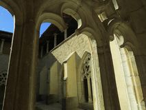Abbaye Notre-Dame Ambronay Royaltyfri Bild