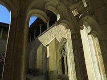 Abbaye Notre-Dame Ambronay Royalty Free Stock Image