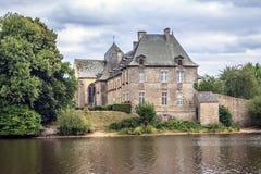 Abbaye Notre-Dame de Paimpont, França foto de stock royalty free