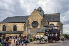 Free Abbaye Notre-Dame De Paimpont, France. Stock Photos - 130472513