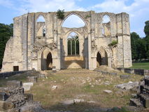 Abbaye Royale Notre-Dame du Lys, Dammarie-les-Lys (Frankrike). Royaltyfri Bild