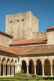 Abbaye Sainte-Marie, Arles-sur-Tech. In france Stock Photos