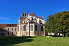 Abbaye Sainte-Marie-Madeleine de Vezelay Imagens de Stock Royalty Free