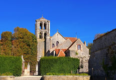 Abbaye Sainte-Marie-Madeleine de Vezelay Foto de Stock