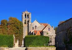 Abbaye Sainte-Marie-Madeleine de Vezelay Stock Photo