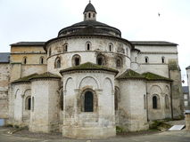 Abbaye Sainte-Marie, Souillac (Frankrike) Arkivbild