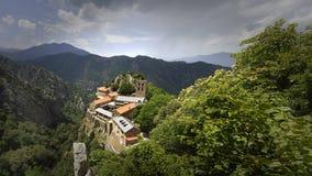Abbaye San Martín du Canigou Fotografía de archivo libre de regalías