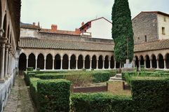 Abbaye St. Marie Royalty Free Stock Photography