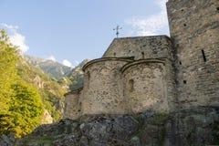 Abbaye St Martin du Canigou Stockfoto