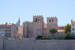 The Abbaye St. Victor, in Marseille, Provence, France Royalty Free Stock Photos