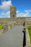 Abbazia Co. Clare Irlanda della Clare Fotografie Stock