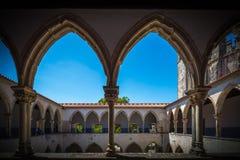Abbazia, Convento de Cristo Immagine Stock Libera da Diritti
