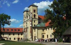 Abbazia del benedettino in Tyniec Immagine Stock Libera da Diritti