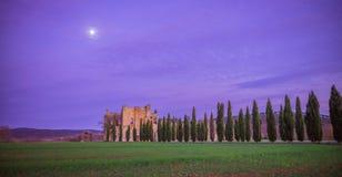 Abbazia del San Galgano, Toscana Fotografie Stock Libere da Diritti