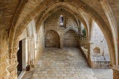 Abbazia di Bellapais nel Cipro del Nord immagine stock