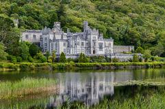 Abbazia di Kylemore, Irlanda fotografie stock libere da diritti