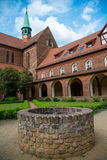 Abbazia di Lehnin, Brandeburgo, Germania Fotografia Stock Libera da Diritti